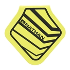Nathan Mag Flash Diamond Reflective Clip-on Patch: Safety Yellow
