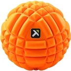 "Trigger Point GRID Massage Ball: 5"", Orange"