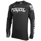 Royal Racing Victory Race LS Jersey, Black/ash - L