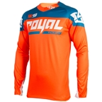 Royal Racing Victory Race LS Jersey, Orange/diesel - XL