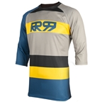 Royal Racing Drift 3/4 Jersey, Diesel/black/yellow - XL