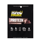 Ryno Power Protein Powder, Single Serving - Chocolate