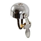 Crane Bell Co E-Ne Bell, Brass - Chrome With Chrome Striker