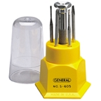 General Tools Jeweler Screwdriver Set, 5-in-1
