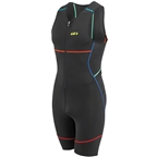 Louis Garneau Tri Comp Men's Tri Suit: Multi Color
