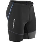Louis Garneau Tri Comp Men's Tri Short: Black/Gray/Blue