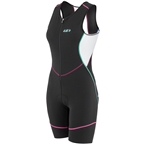 Louis Garneau Tri Comp Women's Tri Suit: Multi Color