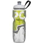 Polar Bottles Insulated Water Bottle: 20oz Green Bear