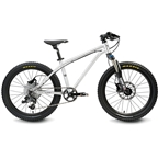 """Early Rider Trail T20SC Bike: 1x9speed Chain 20"""" Wheel Brushed Silver"""