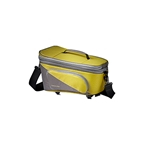 Racktime Talis Plus Trunk Bag - Lime Green/Stone Gray