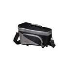 Racktime Talis Plus Trunk Bag - Carbon Black/Stone Gray