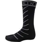 Seal Skinz Super Thin Pro Mid Waterproof Sock: Black