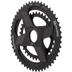 Rotor Q-Ring Direct Mount Oval 50t/34t Integrated Chainring Set, Black