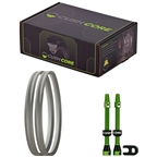 """Cush Core Tire Inserts Set 26"""" Pair, Includes 2 Tubeless Valves"""