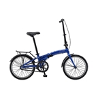 Sun Shortcut 3 Coaster Brake Internal 3-Speed Folding Bike - Blue Pearl