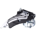 Shimano Tourney FD-TX51 6/7-Speed Triple Top-Swing Dual-Pull Front Derailleur