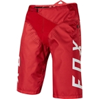 Fox Racing Demo Shorts: Bright Red