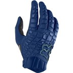 Fox Racing Sidewinder Men's Full Finger Glove: Light Indigo