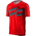 100% Airmatic Men's MTB Jersey: Red