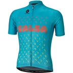 Salsa 2018 Team Kit Men's Short Sleeve Jersey: Blue