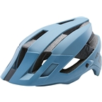 Fox Racing Flux Helmet: Slate Blue SM/MD