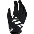 Fox Racing Ranger Youth Full Finger Glove: Black/White