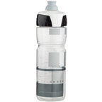 Elite Crystal Ombra Water Bottle: 25oz, Clear/Gray