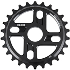 Radio Axis Sprocket 28t 24mm/22mm/19mm Black