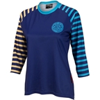 Salsa Devour Women's 3/4 Sleeve Jersey: Blue