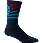 Salsa Devour Socks: Blue/Red