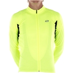 Bellwether Sol Air UPF 40+ Men's Long Sleeve Cycling Jersey: Hi-Vis