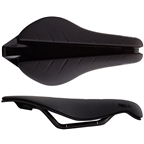 Fabric Tri Pro Flat Saddle: Black