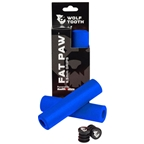 Wolf Tooth Components Fat Paw Grips, Blue