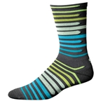 """Save Our Soles Dusk To Dawn 7"""" Socks, Granite"""