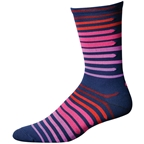 "Save Our Soles Dusk To Dawn 7"" Socks, Navy"