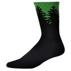 "Save Our Soles Evergreen 7"" Socks, Green"