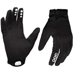 POC Resistance Enduro Adj Full Finger Gloves: Uranium Black/Uranium Black
