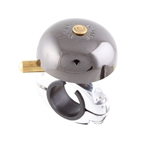 Crane Bell Co Karen Mini Bell, Brass - Neo Black
