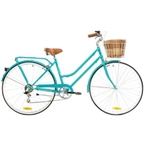 "Reid Ladies Classic 7-Speed Steel City Bike 26"" Aqua"