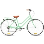Reid Ladies Classic 7-Speed Steel City Bike 700c Mint Green