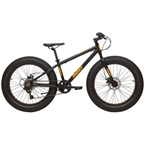 "Reid Monster 24"" x 4.0"" Kids Fat Bike Black"
