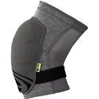 iXS Flow ZIP Knee Pads: Gray