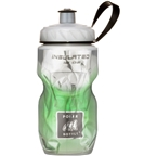 Polar Bottles Insulated Water Bottle: 12oz, Green Fade