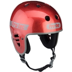 Pro-Tec Full Cut Helmet: Red Flake