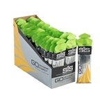 SiS GO Isotonic Energy Gel: Apple, 60ml, Box of 30