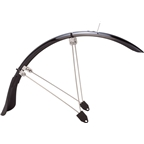 "Planet Bike Cascadia ALX 20"" x 1.4-1.9"" Front Recumbent Fender: Each, Black"