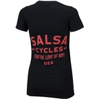 Salsa Dirt Lover Women's T-Shirt: Black/Red