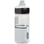 Elite Crystal Ombra 550ml Water Bottle: Clear/Gray