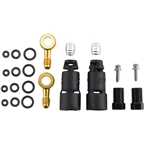 Jagwire Pro Disc Brake Hydraulic Hose Quick-Fit Adapters for SRAM Level Ultimate, Level TLM~ 2018 Code RSC/R