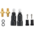 Jagwire Pro Disc Brake Hydraulic Hose Quick-Fit Adapters for SRAM/Avid HFA208